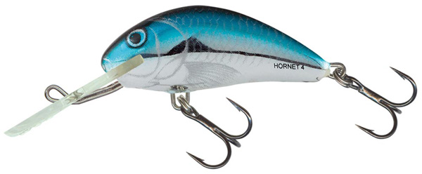 Salmo Hornet 4cm (4 Optionen) - Silver Blue Herring (BHH)
