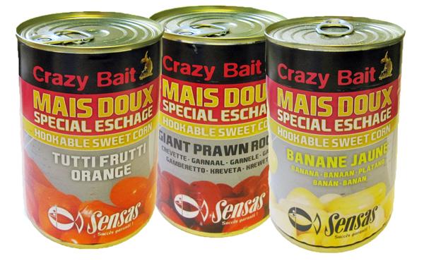 Sensas Mais Crazy Bait (6 Flavours wählbar)
