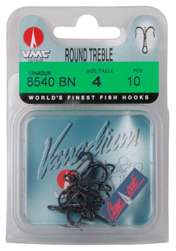 VMC 8540 Vanadium Round Drillinge, 10 St. (2 Optionen)