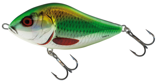 Salmo Slider 12cm Floating Holographic Psychedelic Roach - Holographic Green Roach (HGR)