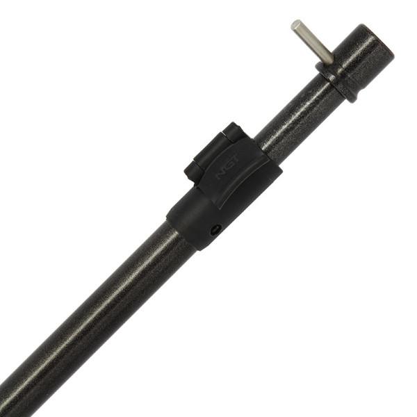 NGT Power Bore Aluminium Storm Pole mit T-Bar (wählt zwischen 2 Längen)