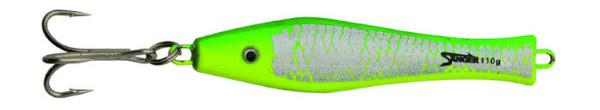 Aquantic 3D Holo Pilker 400g (5 Optionen) - Green / Yellow