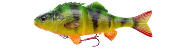 Savage Gear 4D Line Thru Perch + Salmo Surprise (6 Optionen) - Firetiger