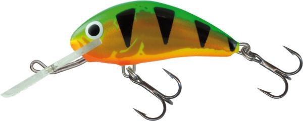 Salmo Hornet 4cm, USA Farben! (26 Optionen) - Holo Green Tiger