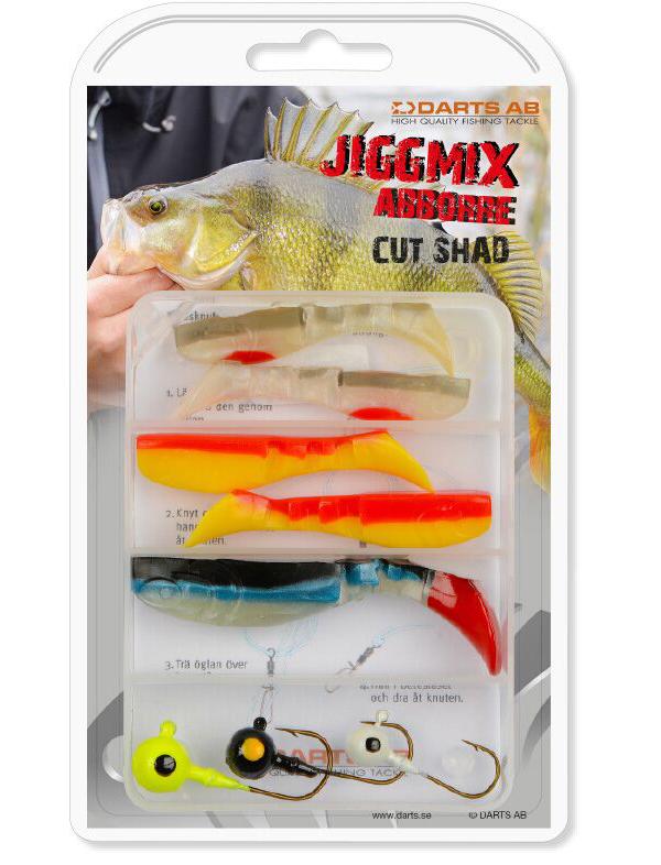 Darts Jiggmix Cut Shad mit softbaits und jigheads!
