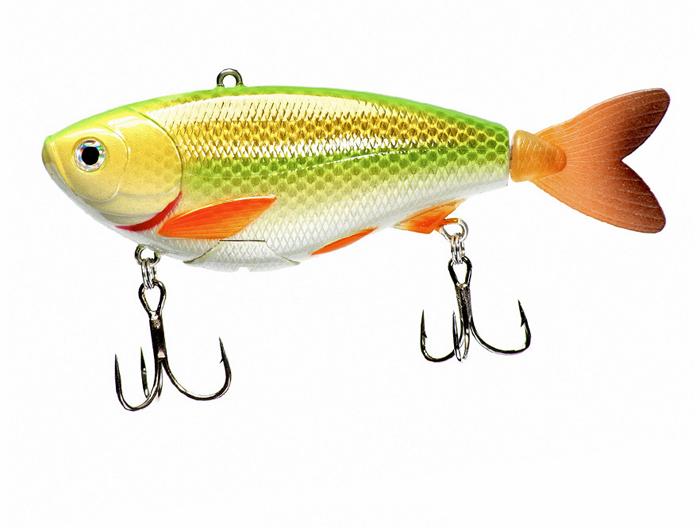 eMinnow FatBobba-selbstschwimmender Kunsköder (5 Modelle erhältlich) - Chartreuse Pearl