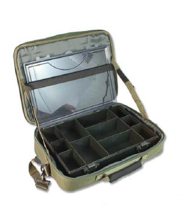NGT Tackletasche mit passender Tacklebox