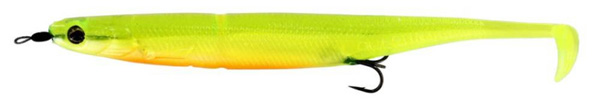 Westin KickTeez Shadtail 15cm Rigged, 2 Stück (7 Optionen) - Slime Curd