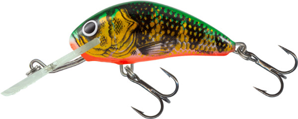 Salmo Hornet 4cm, USA Farben! (26 Optionen) - Orange Perch