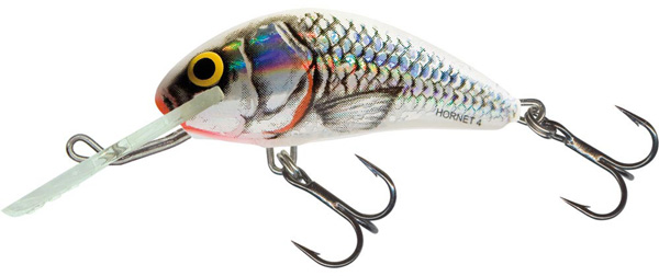 Salmo Hornet SDR 4cm (3 Optionen) - Silver White Shad (SWS)