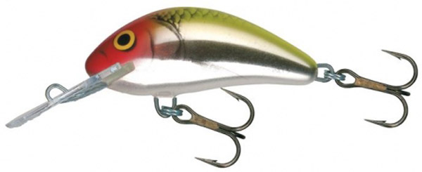 Salmo Hornet 5cm Floating (5 Optionen) - Metallic Clown (MEC)