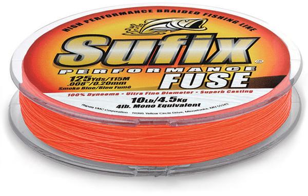 Sufix Performance Fuse Geflochtene Schnur 1500 m (4 Optionen) - Orange