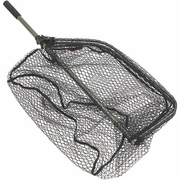 Kinetic Bootskescher, gummiert und mit faltbarem Rahmen