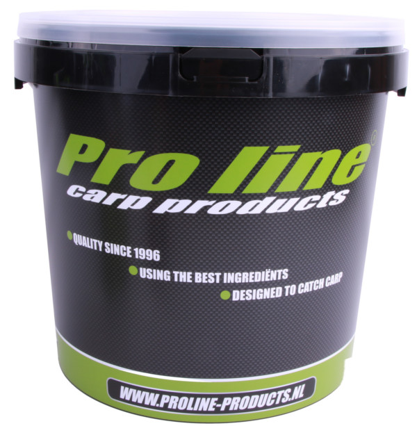 Pro-Line Hi-Instant Fish&Krill Paket mit Boilies, Bait Steam, complex Fischöl und einem Eimer!
