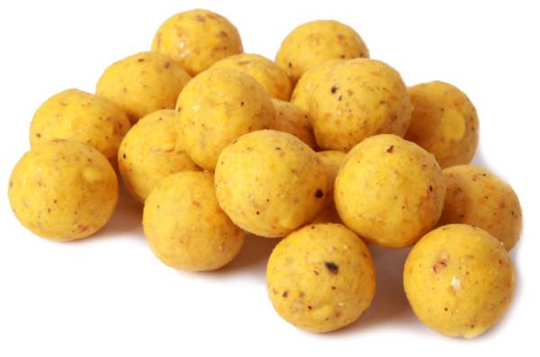 5kg Readymade Boilies (keuze uit 5 smaken) - Curry Cocos