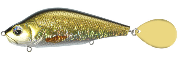 Sébile Spin Glider 115 (5 Optionen) - Natural Golden Shiner: