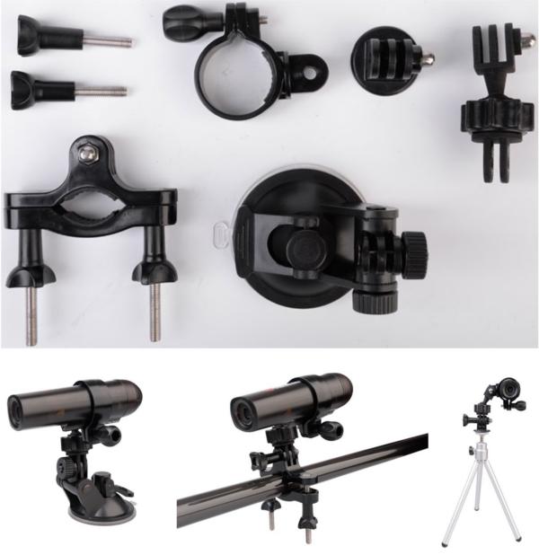 WaterWolf UW1.0 Zubehör-Pack, auch für Actionkameras