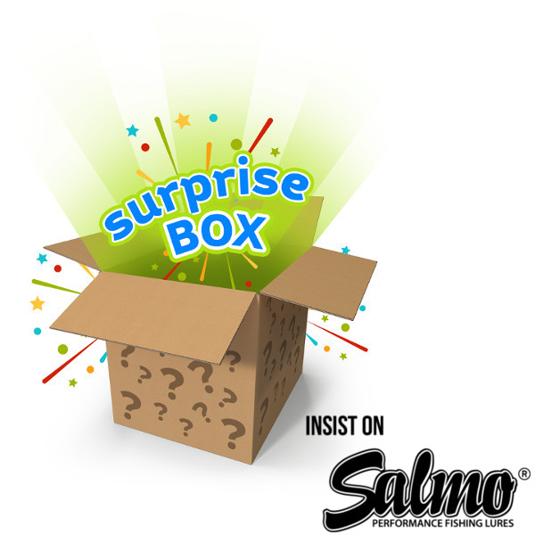 Salmo Surprise Pack, über 10 Wobbler!