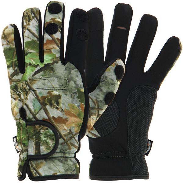 NGT Neopren Camo Handschuhe (in allen Größen verfügbar)
