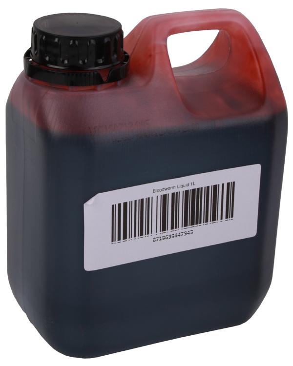 1 Liter Booster Liquid (7 Optionen) - Bloodworm