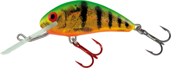 Salmo Hornet 4cm, USA Farben! (26 Optionen) - Holographic Fire Tiger