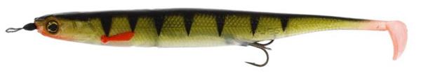 Westin KickTeez Shadtail 15cm Rigged, 2 Stück (7 Optionen) - Striped Perch