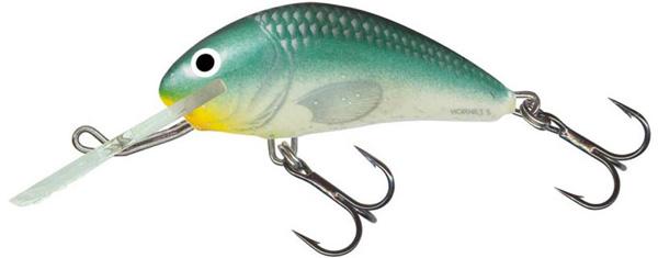 Salmo Hornet 6cm Floating (9 Optionen) - Green Back Herring (GBH)