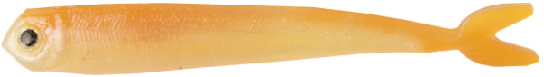 "Fishbelly Hawg Shads Split Tail 3,5"", 7 Stück (14 Optionen) - Marsh Killie"