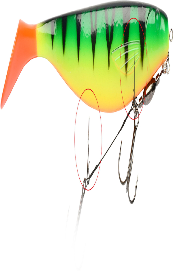Darts Soft Bait Spike 25mm, 15 st.!