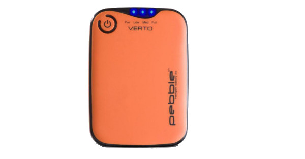 VEHO Verto Powerbank 3700 (in Grey, Orange & White) - Orange