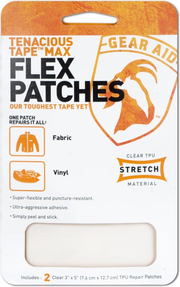 Gear Aid McNett Max Flex Patches, zum reparieren von Stoff und Vinyl (2 St.)