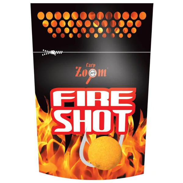 Carp Zoom Fire Shot Boilies (12 Optionen)