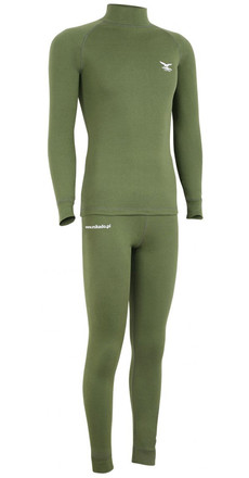 Mikado Thermoactive Underwear Set Green (in Gr. M - XXXL)