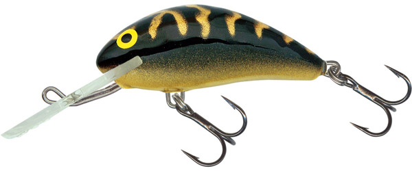 Salmo Hornet 5cm Sinking (6 Optionen) - Black Tiger (BLT)