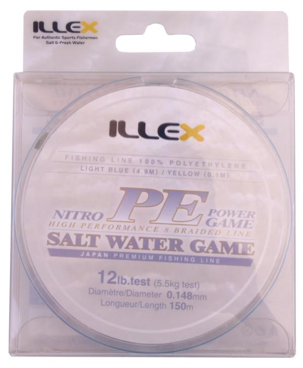 Illex Nitro PE Power Game High Performance Braid (3 Optionen)
