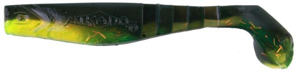 Mikado Fishunter 10.5cm, mit beigefügtem Geruchsstoff (13 Optionen) - Green Glitter