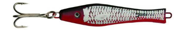 Aquantic 3D Holo Pilker 400g (5 Optionen) - Black / Red
