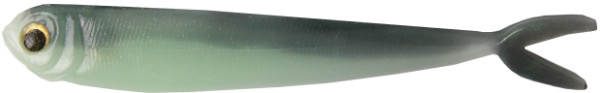 "Fishbelly Hawg Shads Split Tail 5"", 5 Stück (12 Optionen) - Green Shad"