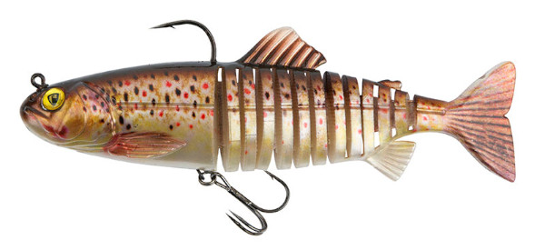 Fox Rage Replicant Super Natural Trout Jointed & Wobble (6 Optionen) - Jointed Brown Trout: