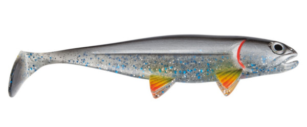 Jackson The Fish 10cm, 4 Stück! (10 Optionen) - Silver Shad