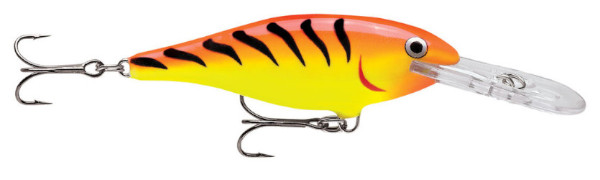 Rapala Shad Rap 07 (10 Optionen) - Hot Tiger