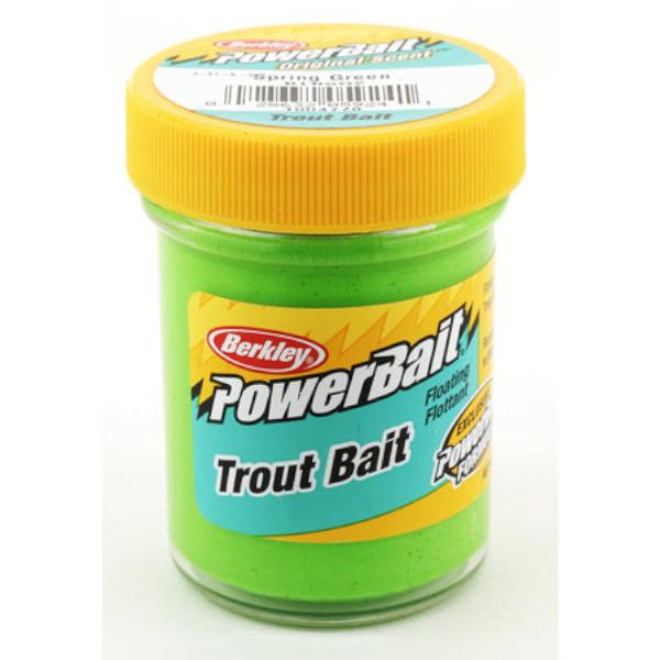 Berkley Powerbait Biodegradable Trout Bait (7 Optionen) - Spring Green