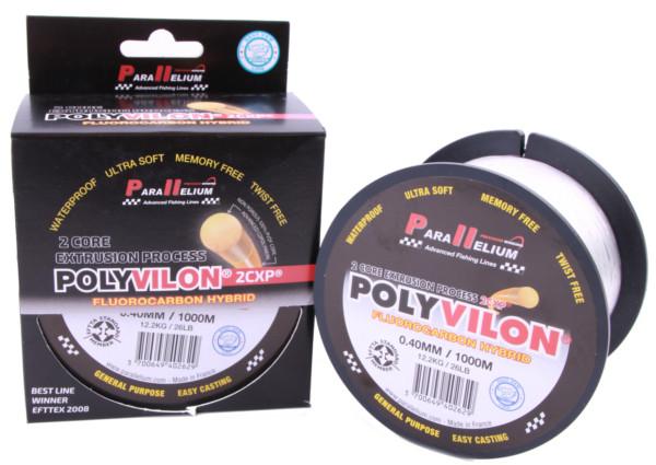 1000m Spule Parallelium Polyvilon Fluorocarbon Hybrid (2 Optionen)