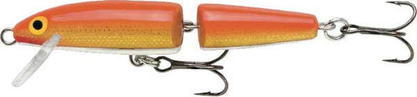 Rapala Jointed Floating 13cm (5 Optionen) - Gold Fluorescent Red