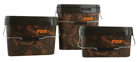 Fox Camo Square Eimer (3 Optionen)