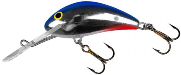 Salmo Hornet 5cm Sinking (6 Optionen) - Red Tail Shiner (RTS)