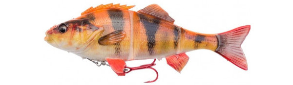 Savage Gear 4D Line Thru Perch + Salmo Surprise (6 Optionen) - Albino