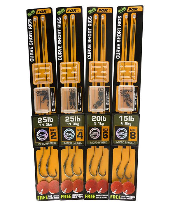 Life Orange Carp Hair Rigs Series 2 Größe zur Auswahl Karpfenhaken Ready Rigs