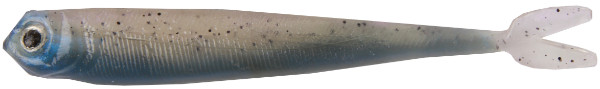 "Fishbelly Hawg Shads Split Tail 5"", 5 Stück (12 Optionen) - Rainbow Trout"
