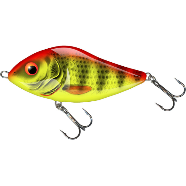Salmo Slider 7cm Floating (mehrere Optionen) - Bright Perch